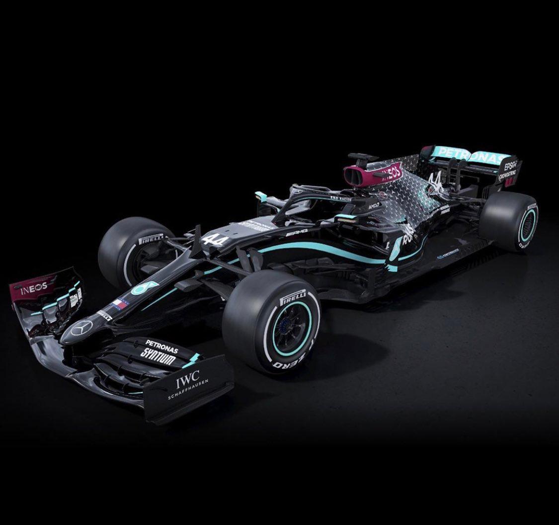 Equipo Mercedes F1 correrá con auto de negro contra el racismo!