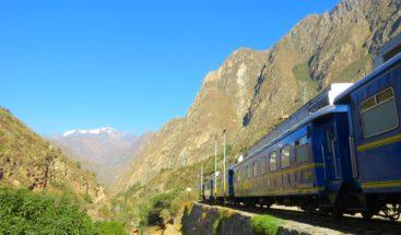 El tren turístico a Machu Picchu queda listo para reiniciar sus operaciones
