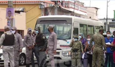 Ministerio de Salud realiza operativo en el Gran Santo Domingo