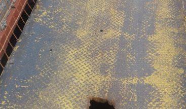 Piden reparación de puente en comunidad Pontezuela de Santiago de los Caballeros