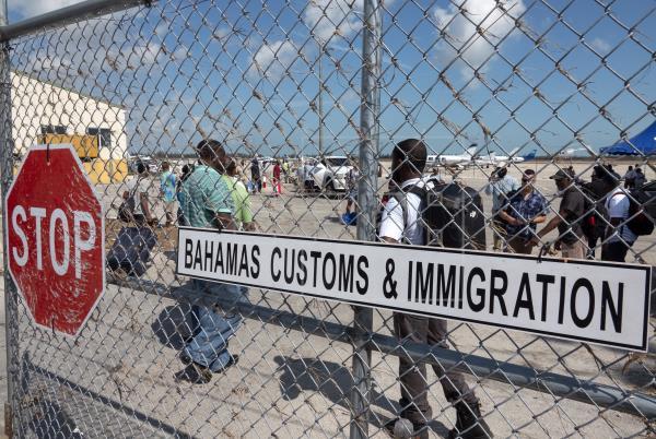 Repatrían a 75 haitianos detenidos en Bahamas