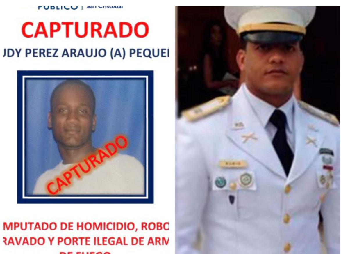 Apresan acusado de asesinar a capitán del Ejército Richi Rubio