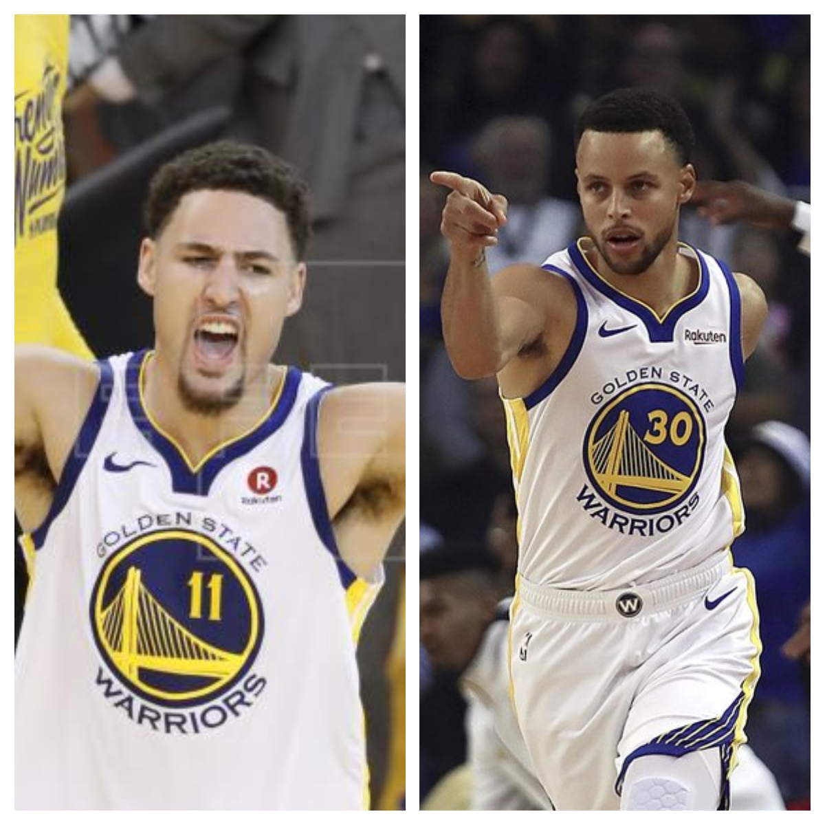 Stephen Curry y Klay Thompson se unen a las protestas por la justicia racial