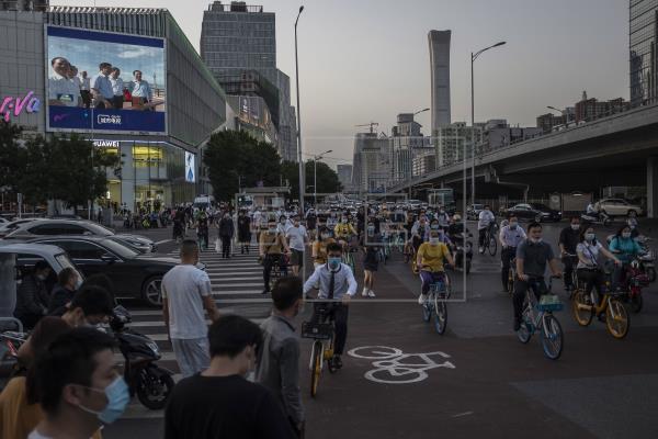 Un solo nuevo contagio por coronavirus en China en el último día