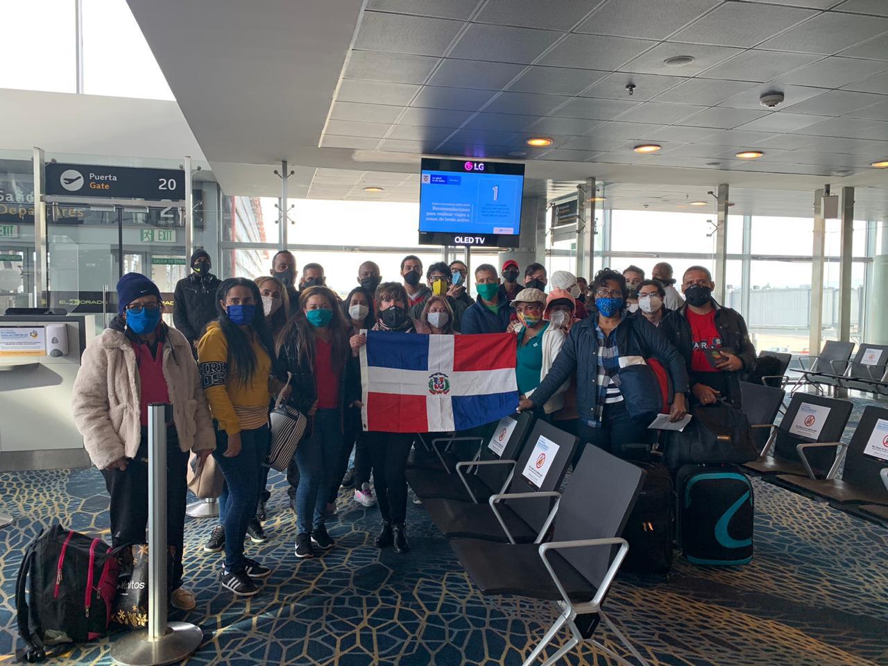 MIREX informa regreso de 134 dominicanos varados