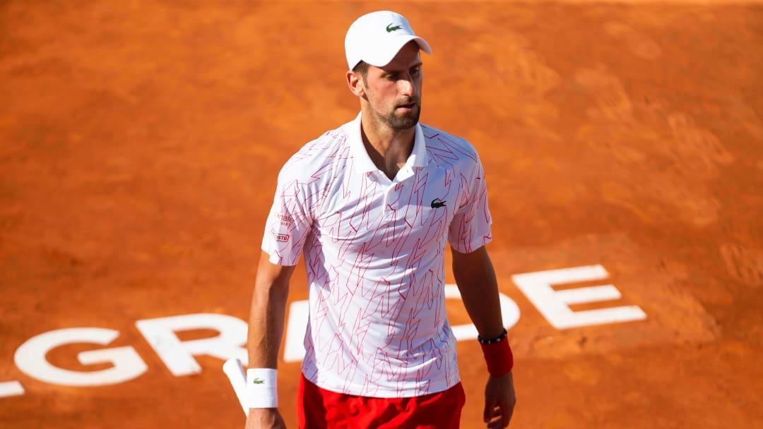 Djokovic es criticado por organizar torneo de exhibición con público en medio de pandemia