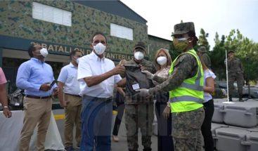 Cruz Jiminián agradece al Ejército por su labor contra COVID-19