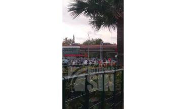 Denuncian largas filas en estación del metro Pedro Mir