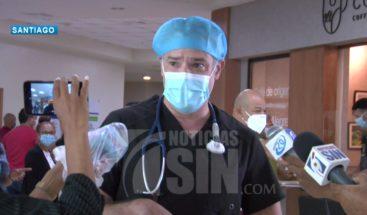 Preocupación en Santiago por aumento de pacientes con COVID-19