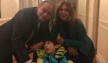 Mónika Despradel se despide de su hijo con una carta muy emotiva