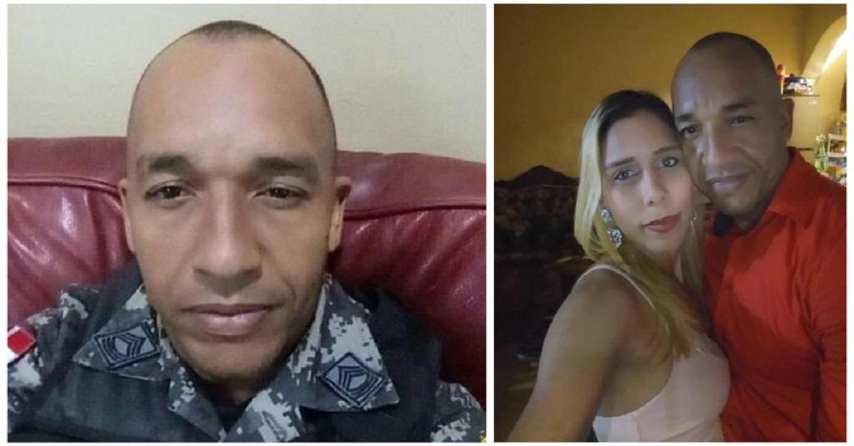 Se entrega sargento acusado de ultimar a su esposa en el sector La Zurza