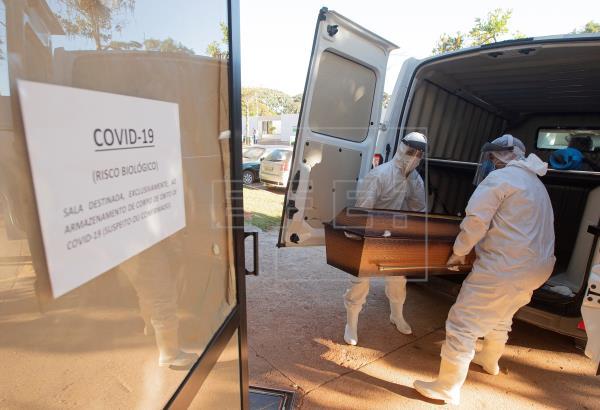 Brasil llega a 47,748 muertes  y roza los 980,000 casos