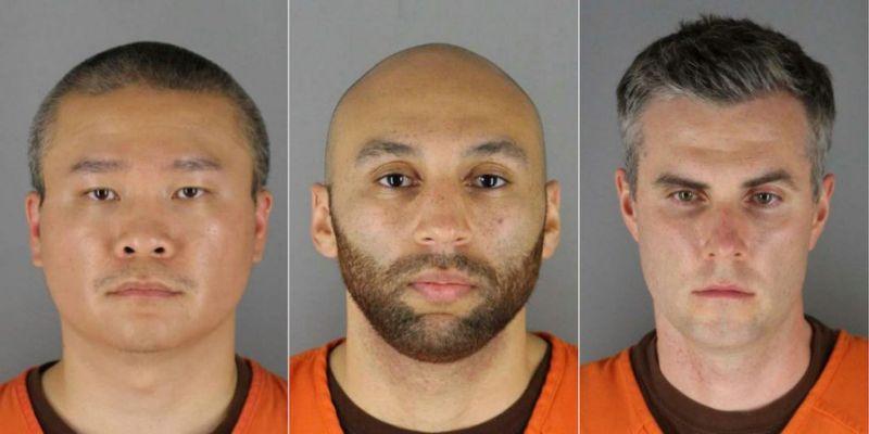 Fianza de 750,000 dólares para tres de los implicados en la muerte de Floyd
