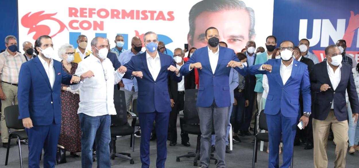 Eddy Alcántara llama a reformistas a votar por Abinader