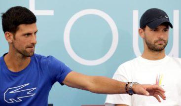 El padre de Djokovic culpa al búlgaro Dimitrov del brote de COVID en torneo