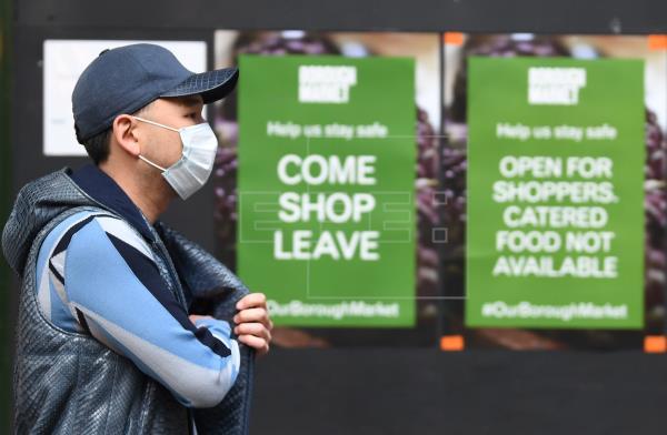 El Reino Unido supera los 40.000 muertos confirmados por COVID-19
