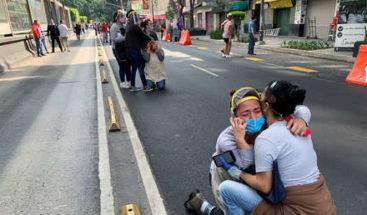 Un fuerte sismo de magnitud 7,5 sacude el sur y centro de México