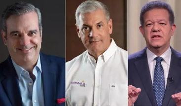 Mark Penn/Stagwell: Luis Abinader 47%, Gonzalo Castillo 35% y Leonel Fernández 11%
