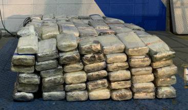 Confiscan 260 kilos de cocaína en ferry Santo Domingo-Puerto Rico