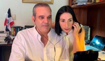Médicos declaran recuperados a Luis Abinader y Raquel Arbaje, tras dar negativo segunda prueba