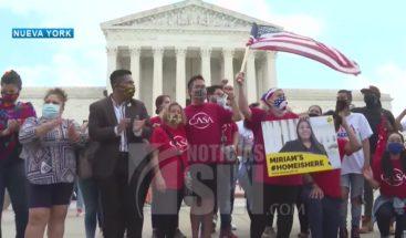 Suprema Estados Unidos falla a favor 'dreamers'