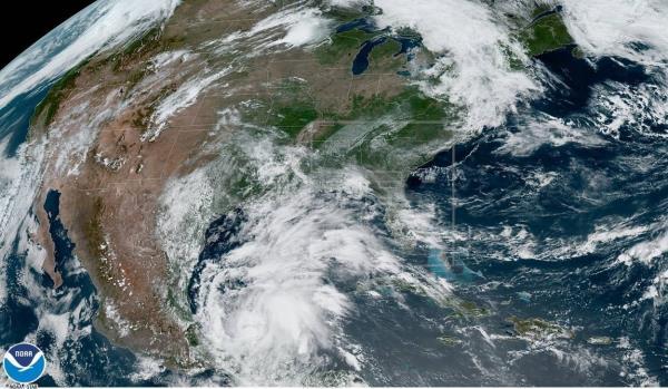 Se forma en el Golfo de México tormenta tropical Cristóbal