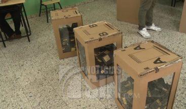 Dirección de elecciones entrega versión digital para impresión de boletas