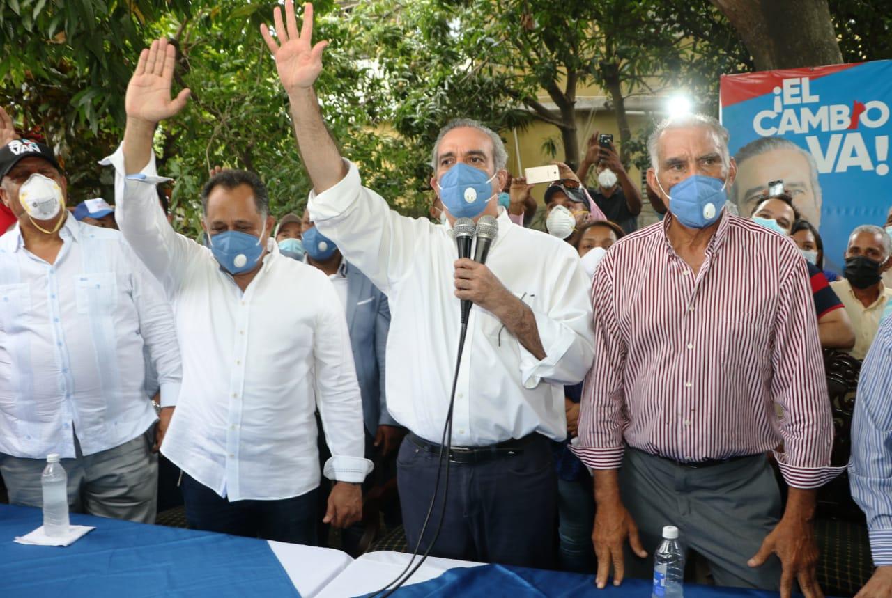 Abinader llama a consolidar el triunfo del PRM y aliados