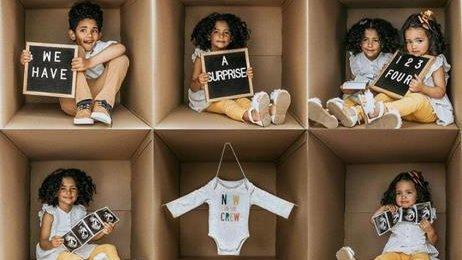 Amelia Vega anuncia llegada de su cuarto bebé