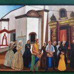 Veinte murales de la historia dominicana plasmados por artistas plásticos