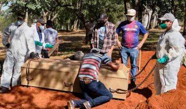 Brasil se acerca a los 70,000 muertos por COVID-19