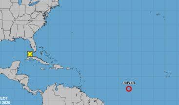 Depresión 7 se convierte en la tormenta Gonzalo en el Atlántico Central