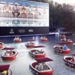 París abre un cine flotante para ver películas desde una barca