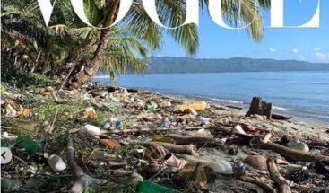 Vogue Británica responde por qué publicó foto de playa de Samaná con basura