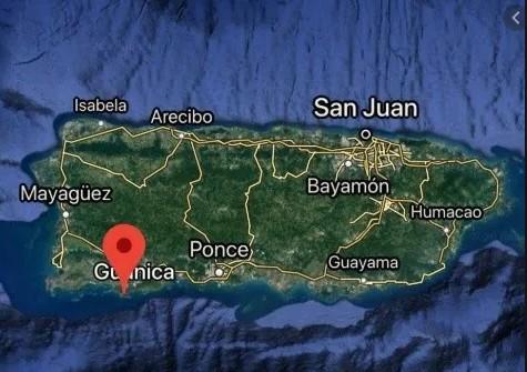 Un sismo de magnitud 5,1 sacude la costa sur de Puerto Rico