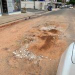 Denuncian deterioro de calle en El Millón tras trabajos de la CAASD