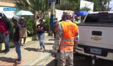 Ciudadanos continúan sufragando en Dajabón
