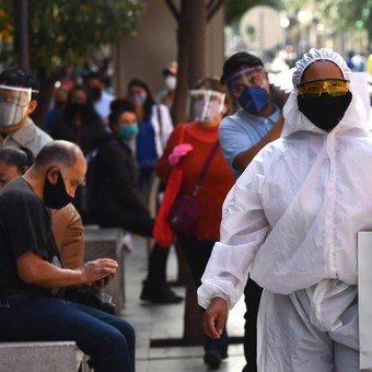 Coronavirus: con 7.280 nuevos casos, México batió el récord de contagios en un día