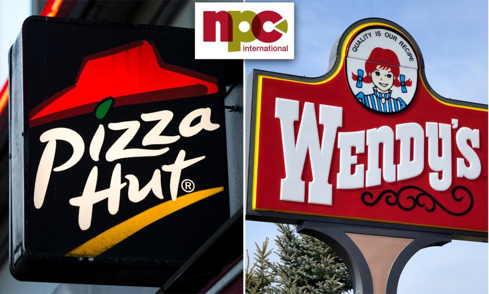En bancarrota, el mayor operador de Pizza Hut y Wendy's en EE.UU.