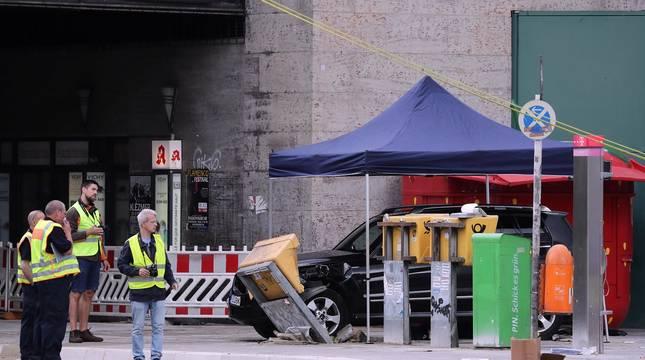Un atropello en Berlín causa ocho heridos y policía no ve indicios atentado