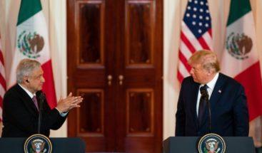 López Obrador agradece que no se hablara del muro fronterizo con Trump