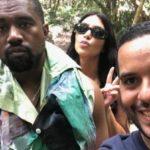 Rapero Kanye Westy Kim Kardashian se encuentran en Punta Cana