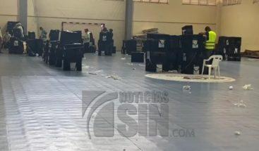 Continúa despacho de kits y valijas electorales hacia recintos de votación