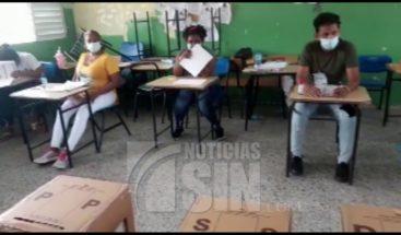 Proceso de votación transcurre con normalidad en municipio Los Alcarrizos