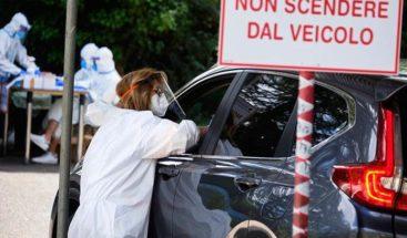 Italia registra 8 muertos y suben a 208 los nuevos contagios por Covid