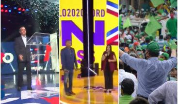 Principales candidatos presidenciales encabezan actos para cerrar campañas