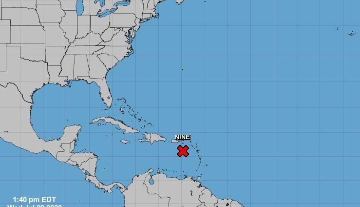 Puerto Rico declara estado emergencia por paso cercano de potencial ciclón 9