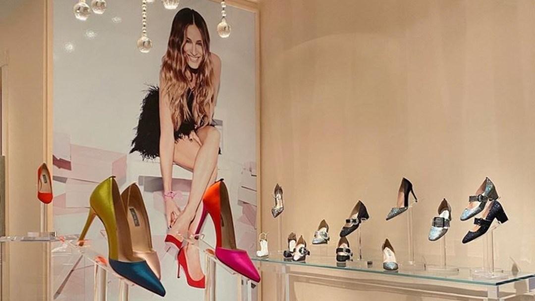 Sarah Jessica Parker abre su primera tienda de zapatos en Manhattan