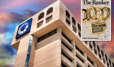 Popular escala 57 posiciones en la lista de los 1,000 mejores bancos del mundo