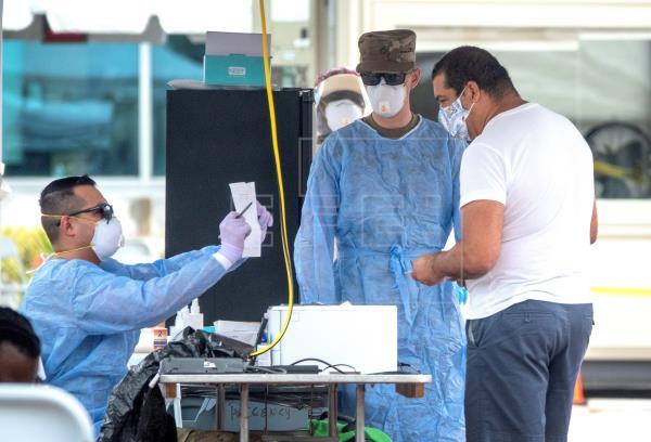Florida registra nuevo récord de muertes diarias, con 186